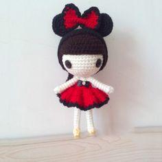 Doll amigurumi free pattern_2