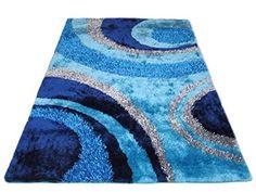 Aqua Blue Dark Blue Light Blue Shaggy Shag Area Rug 8'x10... https://www.amazon.com/dp/B01495X3GO/ref=cm_sw_r_pi_dp_IwNKxbS9FN4V4