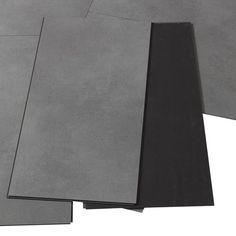 dalle pvc clipsable anthracite effet b ton clic moods artens leroy merlin deco pinterest. Black Bedroom Furniture Sets. Home Design Ideas
