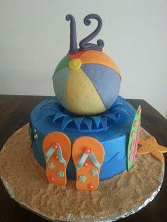 Beach Ball Cake Decorations Beach Ball Cake  Kid Parties  Pinterest  Beach Ball Cake Beach