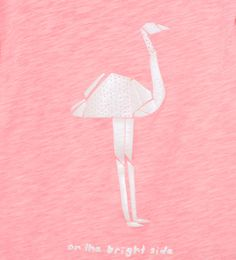 Image 4 of Origami ostrich T-shirt from Zara