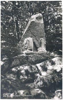 The John Bauer Monument in Jönköping