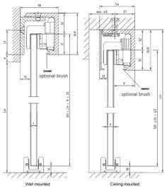 Sliding Glass Door Plan sliding door detail - google search | general details - drawings