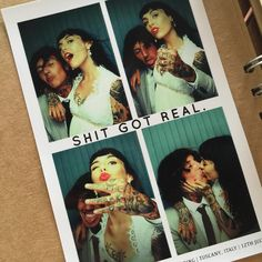 """Hannah Sykes- """"Yesterday I married my best friend , so please excuse the spam but I literally couldn't be happier"""" with Oliver Sykes"""
