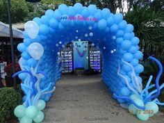 festas de fundo do mar com balões - Google Search