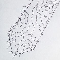 Sneak preview of our brand new Contours necktie design coming soon - follow to keep up to date with release. #map #contours #mountain #outdoors #walking #rambling #orienteering #scout #army #military #chart #cartography #treasure #gentlemen #Etsy #EtsyUK #folksy