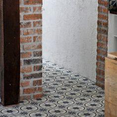 The Specialist in Cement Tiles. Porch Flooring, Texture, Wood Paneling, Tile Floor, Cement Tiles, Interior Design, House Ideas, Gardening, Interiors