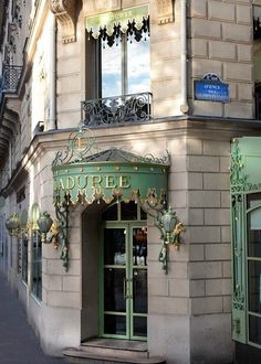 The exterior of Ladurée looks even more delicious than their macaroons.