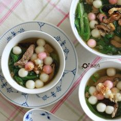Hakka savoury tangyuan (sticky rice ball) | Taiwanese Cuisine