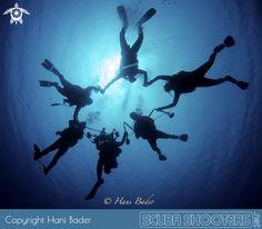 Divers in Sharm el Sheikh