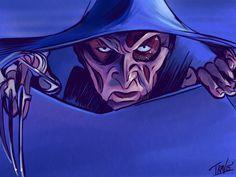 "ibtravart: ""Day 5 of my Days Of Halloween"" Sketch Series Wes Craven's New Nightmare! Robert Englund, New Nightmare, Nightmare On Elm Street, Freddy Krueger, Freddy's Nightmares, Halloween Series, Horror Artwork, Very Scary, Art Blog"