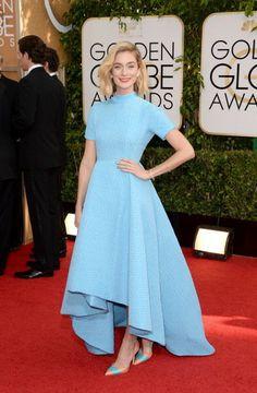 Caitlin FitzGerald - Golden Globe 2014