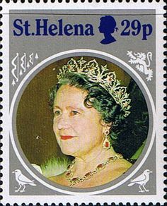 St Helena 1985 Queen Mother Life and Times Fine Mint SG 456 Scott 430 Other St Helena Stamps HERE