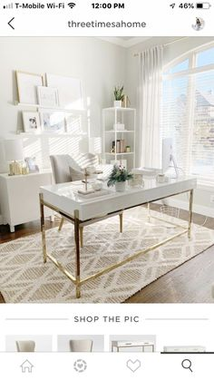 desk home office ideas \ desk home office ; desk home office small ; desk home office modern ; desk home office ideas Home Office Space, Interior Design, Office Interiors, Home, Interior, Office Makeover, Home Office Design, Home Decor, Office Design