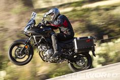 Suzuki V-Strom 650 ABS Adventure - Riding Impression