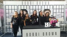 Doing an Event with My fellow Bobbi Brown Artists. Love these Girls.