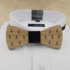 Wooden Bamboo Bow Ties - Great Gift Idea Item Type: Ties Department Name: Adult Style: Fashion Ties Type: Bow Tie Gender: Men Material: Bamboo Fiber,Synthetic Leather Size: One Size Model Number: WBT005 Pattern Type: Geometric