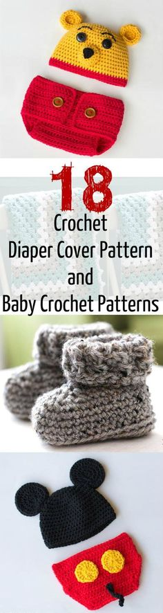Christina Yarn Passion: 20 Free Crochet Diaper Cover Patterns and Baby Cro...