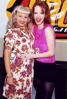Gwen Stefani and Shirley Manson || 1996