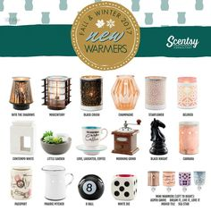 NEW! From our 2017 Scentsy Fall & Winter Catalogue!! Fall in love!