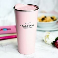 Starbucks pink thermo