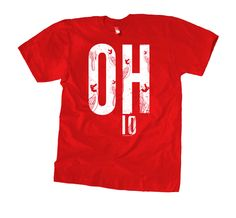 ACTUAL TEXT OH...IO OUR COMMENTARY As the official call and response of Columbus (and most of Ohio) CALL=OH... RESPONSE=IO. FABRIC DETAILS MENS: Tri-Blend Tee / 50% Poly, 25% Cotton, 25% Rayon WOMENS: