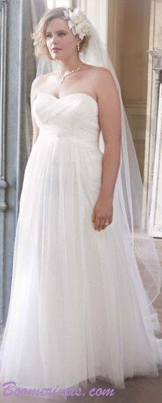 1000 images about wedding dresses for older brides on for Wedding dresses for apple shaped body