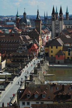Wuerzburg, #Germany, great rivers of Europe trip