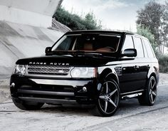 Range Rover...cars are accessories right?