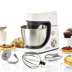 Κουζινομηχανή, Ισχύς: 900W, ανοξείδωτο μπολ χωρητικότητας: 4,6lt, 6 ταχύτητες