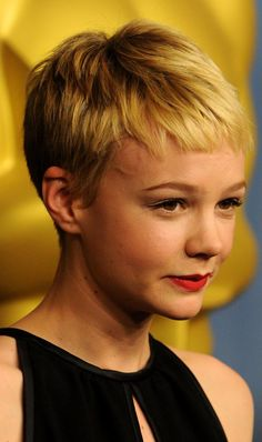 The Best Celebrity Pixie Haircuts: Carey Mulligan Pixie Hairstyles