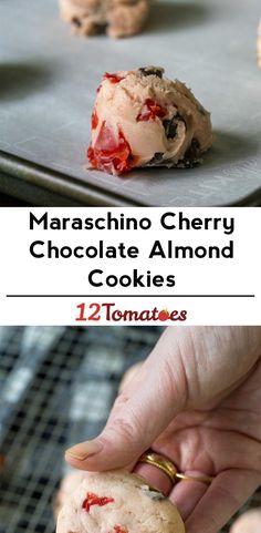 Maraschino Chocolate Cherry Cookies