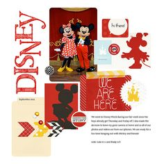 #papercraft #scrapbook #layout.  001 disney page 1-1000x1000 | Flickr - Photo Sharing!