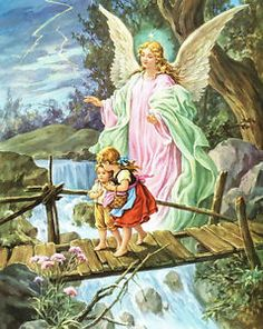 Angel - love this guardian angel picture!