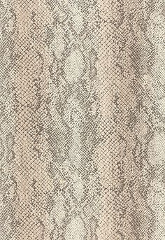 Schumacher Wallpaper Animal Print: 5006230 Cody Snakeskin in Malt. Luxe Lodge. #EstateofDesign