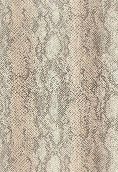 Schumacher Wallpaper Animal Print: 5006230 Cody Snakeskin in Malt. Luxe Lodge. #EstateofDesign