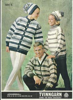 Kvanndal 604 S Hand Knitting, Knitting Patterns, Norwegian Knitting, Avengers, Winter Hats, Crochet Hats, Vest, History, Yellow