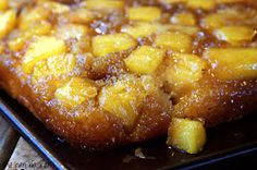 The Hen Basket: Pineapple Upside Down Caramel Poke Cake