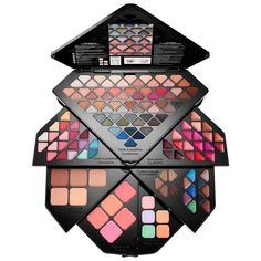 Exclusive Holiday Limited Edition Sephora Collection Into the Stars Palette! A 130 Piece Palette With Everything You Need For A Complete Makeup Look! Perfect For Beginners Or Everyday Makeup Lovers! Make Up Kits, Make Up Palette, Beauty Makeup, Eye Makeup, 2017 Makeup, Drugstore Beauty, Kids Makeup, Lipgloss, Christmas Gifts For Women