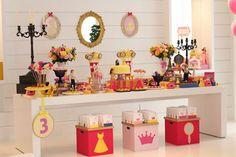 festa bela e a fera, festa infantil, disney, princesa disney, beauty and beast party