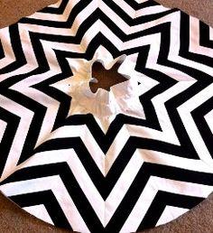 Tutorial: Pieced chevron stripe circle skirt · Sewing | CraftGossip.com