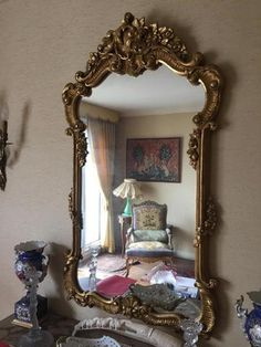 20 Best Antique Mirrors Images Antique Mirror Mirror Antiques