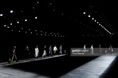 Models walk the runway at the Man show during The London Collections Men SS16 (Photo by Tristan Fewings) | #model #runway #fashion #UK