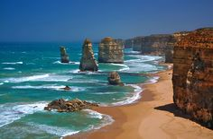 Twelve Apostles in Australia - absolutely the most breathtaking view. I will never forget it!