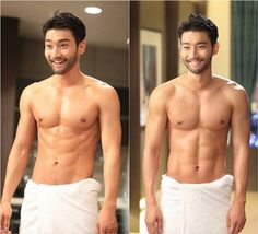 """Park Seo Joon Gets a Nosebleed, Siwon Goes Shirtless, and Much More in Preview For """"She Was Pretty"""""""