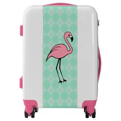 Tango Flamingo Luggage $268.81 25% Off with code 25OFFZAZLOVE Watercolor Flamingo Carry-On Luggage Bag $208.43 Suitcases For Teens, Best Suitcases, Girls Luggage, Cute Luggage, Luggage Sets, Story Starter, Flamingo Illustration, Flamingo Photo, Pink Flamingos Birds