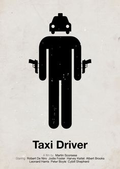 Creative Examples of Pictogram Movie Posters