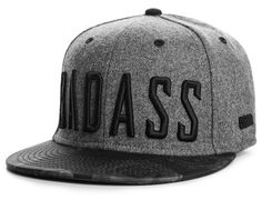 Badass Snapback Cap by BEASTIN - Oh Snapbacks, Strapbacks and 5 Panel Hats