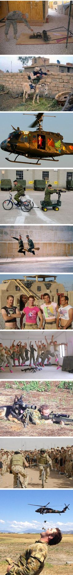 Soldiers With Free Time