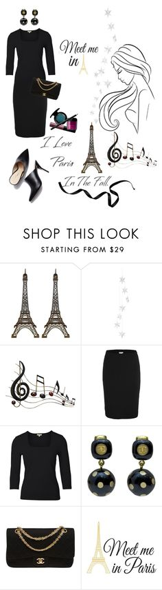 """I Love Paris In the Fall!💜 ~ Contest Submission!"" by campanellinoo on Polyvore featuring Livingly, Benzara, Chanel and Wall Pops!"